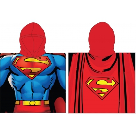 Superman poncho towel fast dry