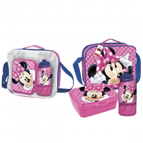 Minnie Mouse Thermal lunchbag with accessories