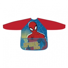 Spiderman apron with sleeve