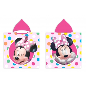 Bathing poncho Minnie Mouse 50x100 cm