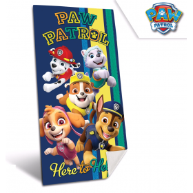 Paw Patrol quick-drying bath towel 70x140 cm