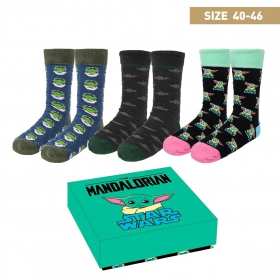 The Mandalorian Gift set - women's socks 3 pack