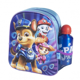 Paw Patrol kindergarden bagpack with water bottle