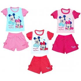 Minnie Mouse baby t-shirt / short set